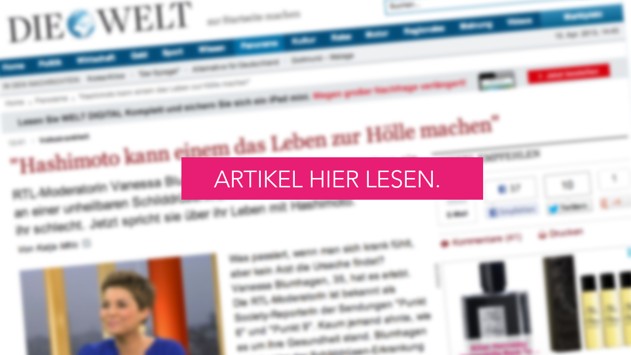 WELT INTERVIEW